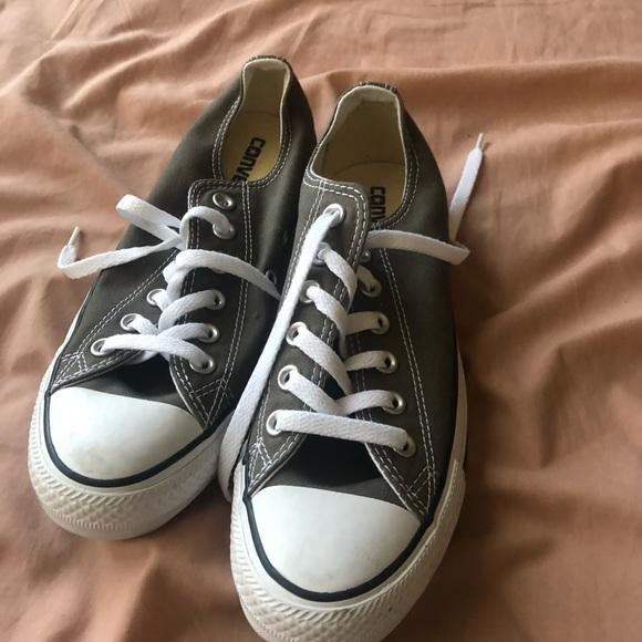 Grey all stars/Chuck Taylor's